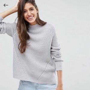 ASOS Sweater With Slouchy High Neck
